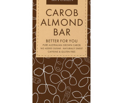 The Carob Kitchen - Carob Almond Bar (80g)