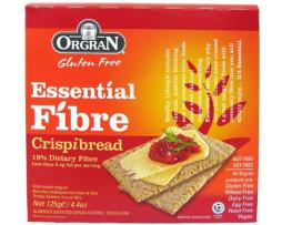 Organ Essential Fibre Crispibread (125g)