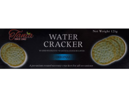 Tania Water Crackers Plain (125g)