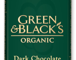 Green and Black Mint and Dark Chocolate (100g)
