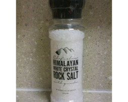 Grinder - Himalayan White Crystal Rock Salt (200g)
