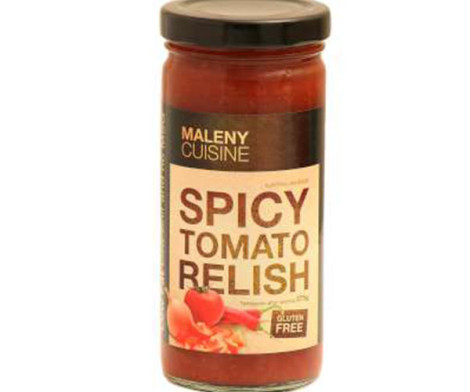 Buy Maleny Cuisine Spicy Tomato Relish (275g) - Sauces / Dressings ...