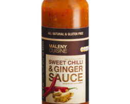 Maleny Cuisine Sweet Chilli and Ginger Sauce (250ml)
