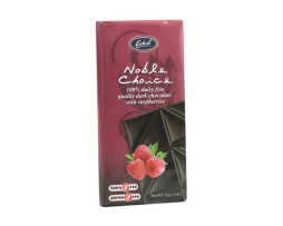 Noble Choice Dark Chocolate with Raspberry (85g)