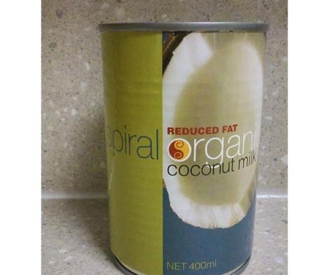 Organic Coconut Milk Can (400)