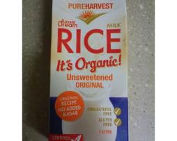 Organic Rice Milk - Pure Harvest (1L)