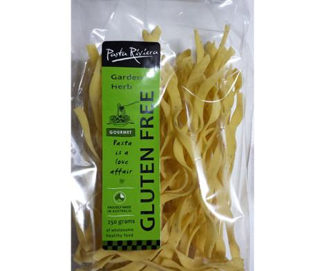 Pasta Riviera - Garlic and Herb Fettuccine