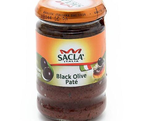 Sacla Italia - Black Olive Pate (190g)
